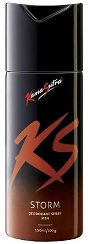 Kamasutra Storm Deodorant Spray - For Men (150 Ml)