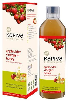Kapiva Ayurveda Vinegar - Apple Cider Vinegar + Honey 500 ml