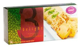 Karachi Bakery Festive Pack - Triple Delight, Assorted Biscuits 600 gm