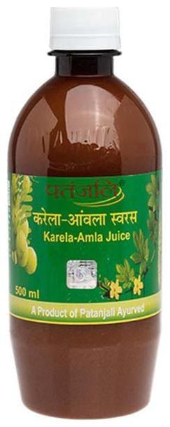 Patanjali Karela Amla Juice 500 ml Immunity/Immunity Booster