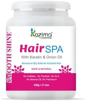 KAZIMA Hair SPA with Keratin & Onion Oil for Smooth, Shiny & Silky Hair 500g