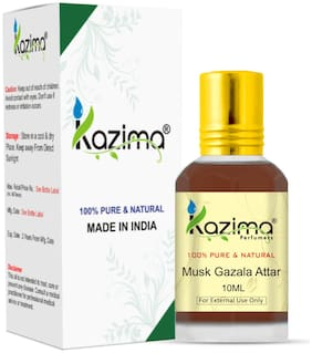 Kazima Musk Gazala Attar Perfume For Unisex 10ml