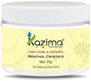 KAZIMA Premium Menthol Crystals 25 g - 100% Pure Natural