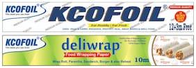 Kcofoil 15m and free 10m deliwrap parchment paper (Pack of 1)