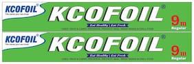 KCOFOIL 9m Aluminium Foil (Pack of 2)