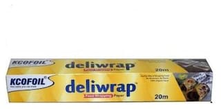 Kcofoil Food Deliwrap Wrapping Paper 20m(Pack Of 1)