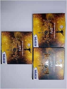KCOFOIL Hookah foil premium cutsheet pack of 3 70g each