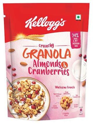 Kellogg's Crunchy Granola Almonds and Cranberries 150 gm