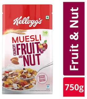 Kellogg's Muesli - Crunchy Fruit & Nut 750 gm