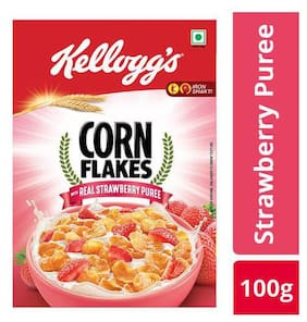 Kellogg's Strawberry Corn Flakes 100 gm