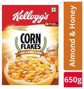 Kelloggs Almond Corn Flakes 650 g