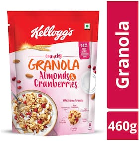 Kelloggs Crunchy Granola Almonds and Cranberries 460 g