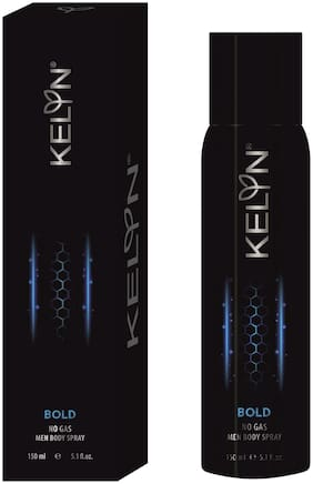 Kelyn Bold No Gas Body Spray - For Men  (150 ml)