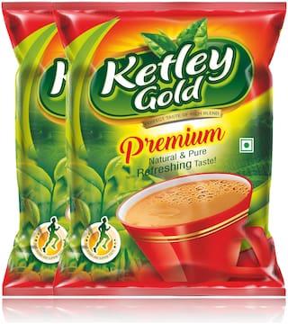 Ketley Gold Premium Assam CTC Tea 500g , Pack of 2 of 250g each