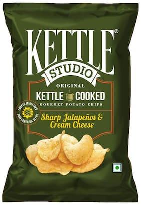 Kettle Studio Potato Chips Sharp Jalapeno & Cheese Cream 47 gm