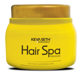 Keya Seth Aromatherapy Professional Hair Spa Premium Keratin Repair, Smoothing & Strengthening Hair Mask for Weak & Frizzy Hair Enriched with Aloe Vera, Amla & Chamomile Oil, 45 g