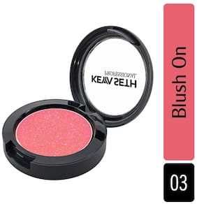 Keya Seth Aromatherapy Makeup Blush On Peach Natural Highlighter & Blusher Enriched with Jojoba oil & Vitamin E Long Lasting Flushed Look (Shade 03) 5.2g (Pack Of 1)