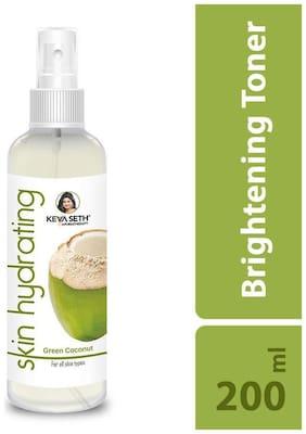 Keya Seth Aromatherapy,Skin Hydrating Green Coconut Toner,Brightens & Tones Skin,Controls ageing,200ml