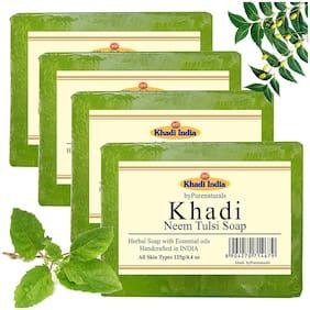 Khadi byPurenaturals Neem Tulsi Soap-125g Set of 4
