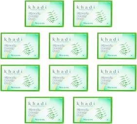 Khadi Shoi Neem Glycerin Beauty Soap -100g(Pack Of 10)