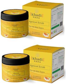 KHADI VEDA Apricot Scrub 50g (Pack of 2)