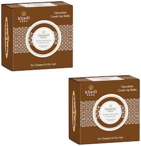 KHADI VEDA Chocolate Crush Lip Balm 10g (Pack of 2)
