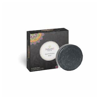 KHADI VEDA Charcoal Body Care Soap 100g