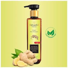 Khadi Veda Ginger Sles Parabens Free Shampoo 200ml