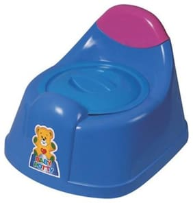 Kids Vogue Baby Potty Trainer Seat 2 in 1 Trainer cum Chair Pack of 1