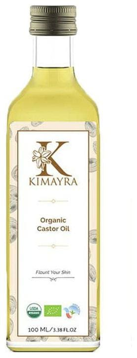 Kimayra World Pure Organic Castor Carrier Oil for Skin, Hair & Massage | Natural Moisturizer - Pure, Undiluted & Therapeutic 100 ml (Pack of 1)