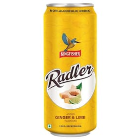Kingfisher Radler - Non Alcoholic Malt Drink  Ginger & Lime 300 ml