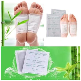Kinoki Cleansing Detox Foot Patches 10 Adhesive Pads Kit (Pack of 1)