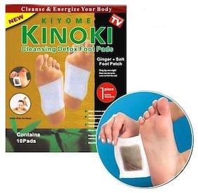Kinoki Gold Cleansing Detox Foot Pad  10 pads