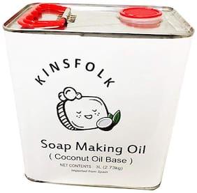 Kinsfolk Soap Making Oil ( Coconut Oil Base) - 3 L