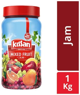 Kissan mixed fruit jam 1 kg (Pack of 1)