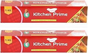 Kitchen Prime 1 kg Food Grade Aluminium Foil (Pack Of 2)