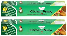 Kitchen Prime Meter Food Grade Aluminium Foil  (Pack of 2)