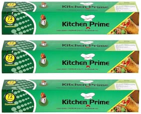 Kitchen Prime Meter Food Grade Aluminium Foil (Pack of 3)