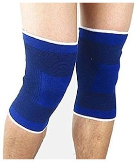 Knee Brace | Knee Support for Sports  Gym & Surgery Recovery | Provide Relief From Knee and Joint Pain (knee support blue)