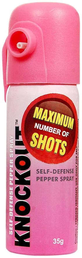 Knockout Powerful Oc Pepper Spray for Self Defense, 15 ft Range, 35 g