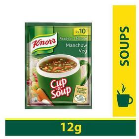 Knorr Cup-A-Soup - Manchow Veg 12 g
