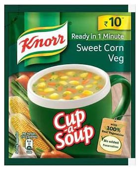 Knorr Instant Sweet Corn Cupasoup 10 Gm