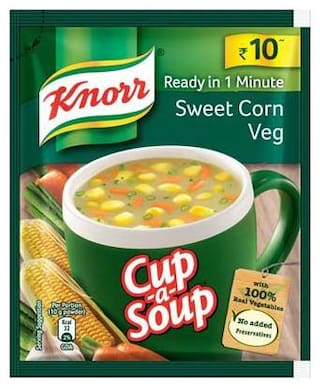 Knorr Instant Sweet Corn Cupasoup 10 g