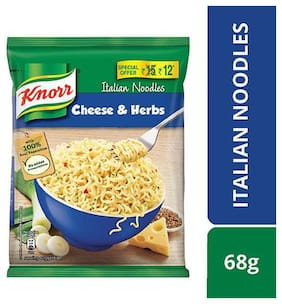 Knorr Noodles - Italian Cheese & Herbs 68 g