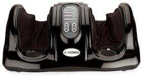 Kobo Kneading Rolling Vibration Heating Foot Massager Personal Health Studio Leg Beautician  Black