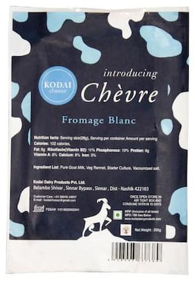 Kodai Cheese Fromage Blance cheese 200 g