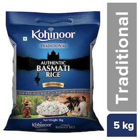 Kohinoor Basmati Rice - Traditional, Authentic, Aged 5 kg