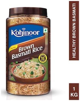 Kohinoor Brown Basmati Rice Jar 1 kg