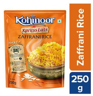 Kohinoor Xpress Eats  Ready-to-Eat Zaffrani Rice 250 g