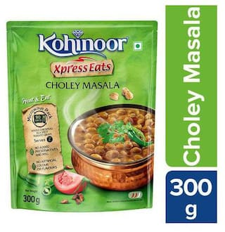Kohinoor Xpress Eats Ready-to-Eat Choley Masala 300 g